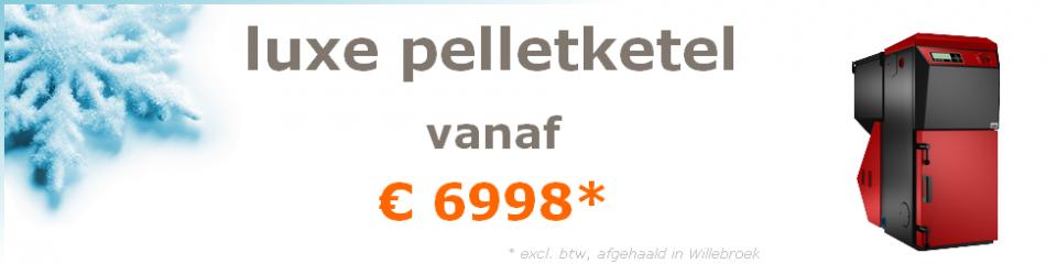 luxe pelletketel vanaf €6998 (excl btw afgehaald in Oostende)