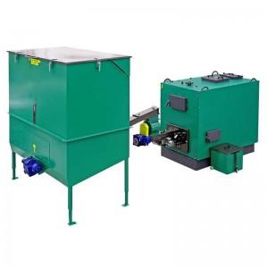 Automatisch gevoede ketel voor droge biomassa 240 kW