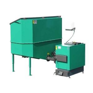 Automatisch gevoede ketel voor droge biomassa 30 kW