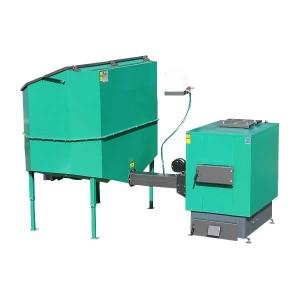 Automatisch gevoede ketel voor droge biomassa 120 kW