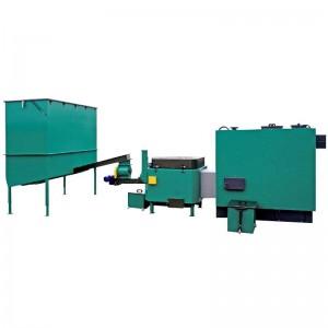 Automatisch gevoede ketel voor vochtige biomassa 240 kW