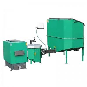 Automatisch gevoede ketel voor vochtige biomassa 50 kW